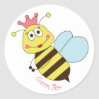 Queen Bee Stickers