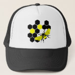 Queen Bee Trucker Hat at Zazzle