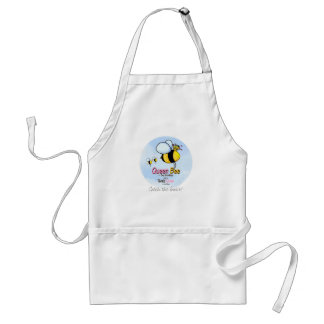 Queen Bee - Twins Mom Adult Apron
