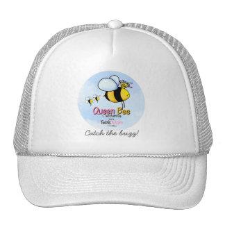 Queen Bee - Twins Mom Trucker Hat