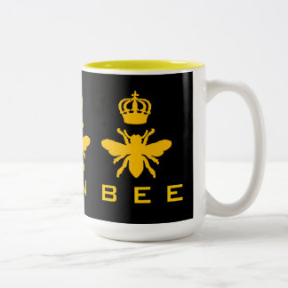 Queen Bee Two-Tone Coffee Mug