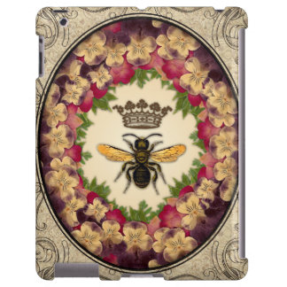 Queen Bee Vintage Nature Magnetic iPad Cover