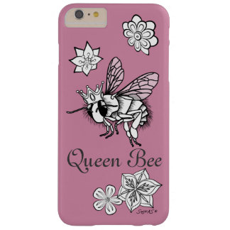 Queen Bee with Flowers: DIY Coloring by Sonja A.S. Barely There iPhone 6 Plus Case