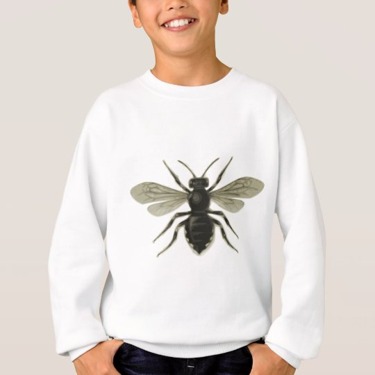 Queen Bee Yellow Black Save The Bees Sweatshirt