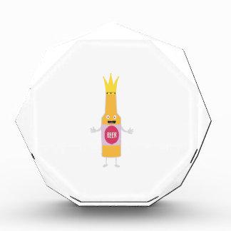 Queen Beer bottle with crone Zfq4y Acrylic Award