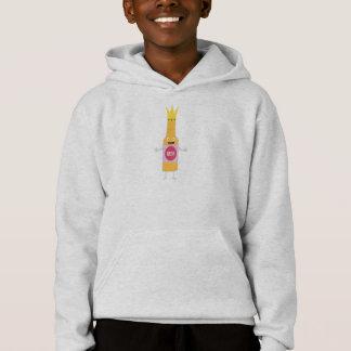 Queen Beer bottle with crone Zfq4y Hoodie