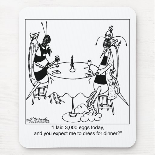 Queen Bee's Date Mouse Pad