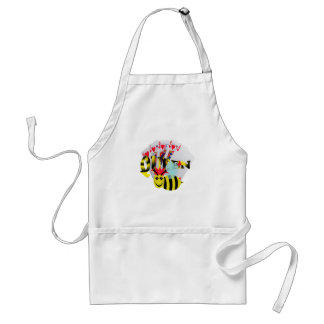 queen bees royal flush adult apron