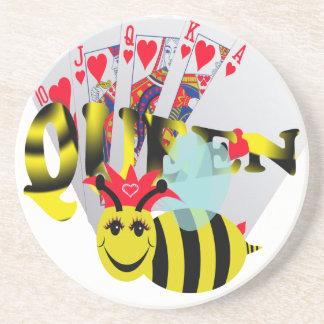 queen bees royal flush coaster