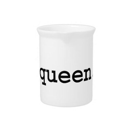 queen. beverage pitcher