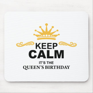 Queen Birthday Mousepad