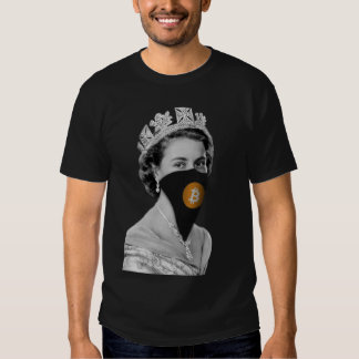Queen Bitcoin Bandit Tee Shirt