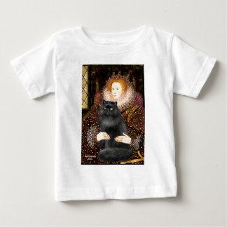 Queen - black Persiasn cat Baby T-Shirt