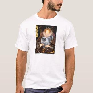 Queen- Blue Smoke Persian cat T-Shirt