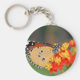 Queen Butterfly Keychain