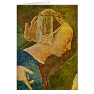 Queen. By Piero Della Francesca Greeting Card