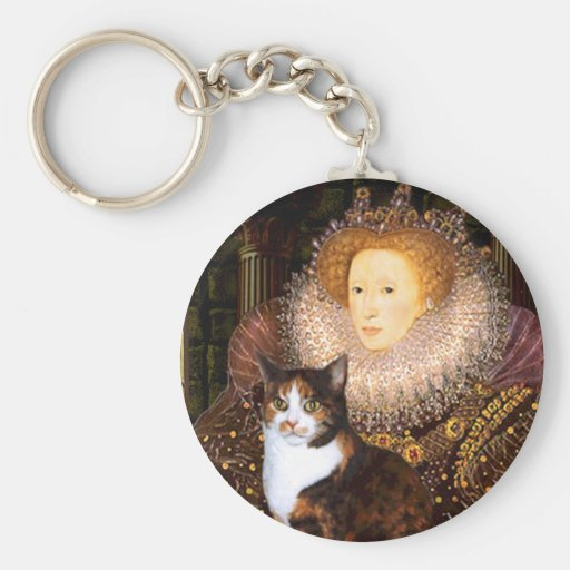 Queen - Calico short haired Keychain