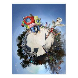 Queen Califia's Magical Circle Garden as a Planet Postcard