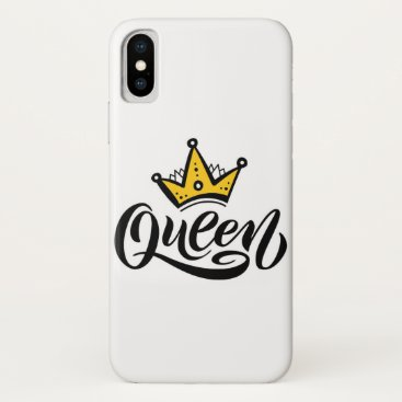 queen iPhone x case