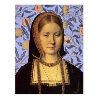 Queen Catherine of Aragon - Portrait Postcard