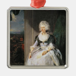 Queen Charlotte, 1789-90, wife of George III Metal Ornament