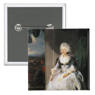 Queen Charlotte, 1789-90, wife of George III Pinback Button