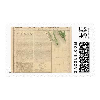Queen Charlotte Islands 30 Postage Stamp