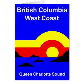 Queen Charlotte Sound Card