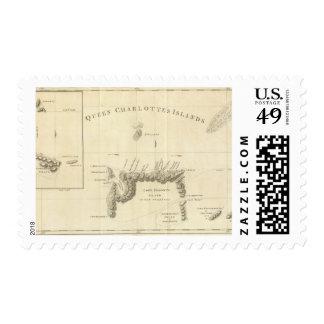 Queen Charlotte's Islands Postage Stamp