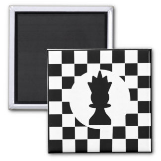Queen Chess Piece - Magnet - Chess Party Favors