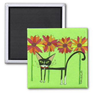 Queen Chloe 2 Inch Square Magnet