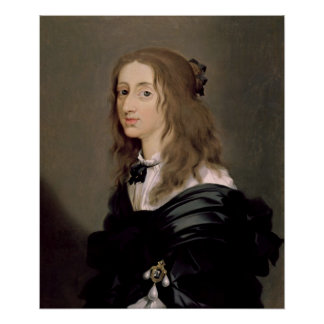 Queen Christina of Sweden  1652 Poster