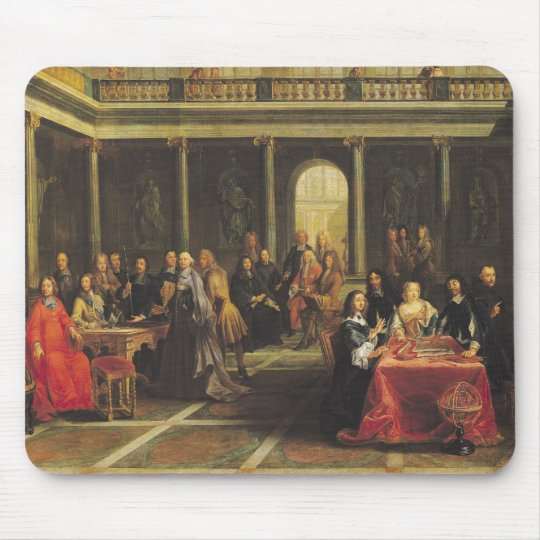 Queen Christina of Sweden  and her Court Mouse Pad