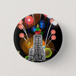 Queen City New Year Pinback Button