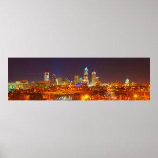queen city @ night print