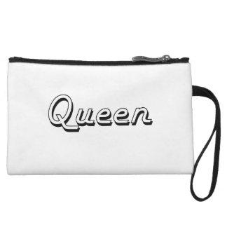 Queen Classic Job Design Wristlet Purses