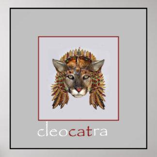 Queen CleoCATra 3 Poster