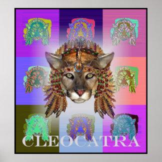 Queen CleoCATra Poster