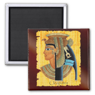 Queen Cleopatra Egyptian Art Magnets