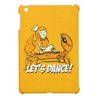 Queen Crab Reggae Girl iPad Mini Cover