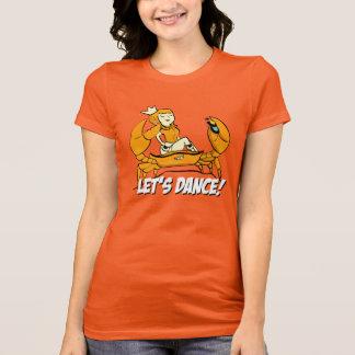 Queen Crab Reggae Girl T-Shirt