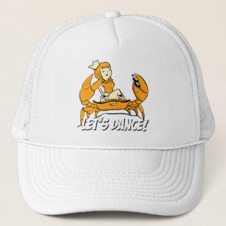 Queen Crab Reggae Girl Trucker Hat