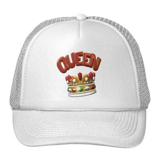 queen.crown mesh hats