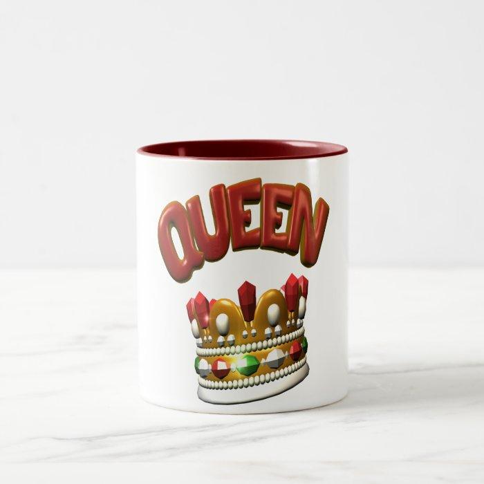 queen.crown Two-Tone coffee mug