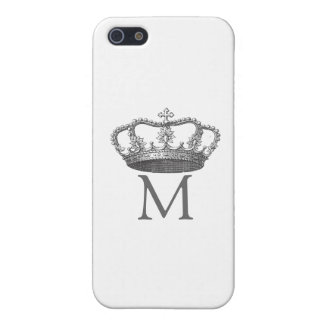 Queen Crown with Monogram iPhone SE/5/5s Cover