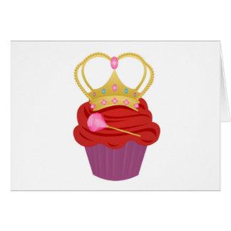 Queen Cupcake Card
