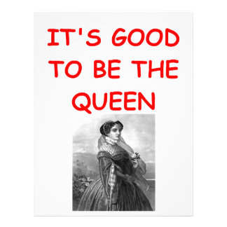 queen custom letterhead