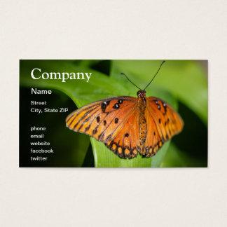 Queen Danaus Gilippus Business Card