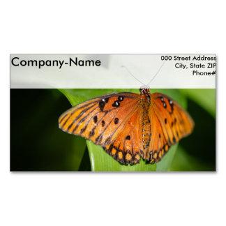 Queen Danaus Gilippus Business Card Magnet
