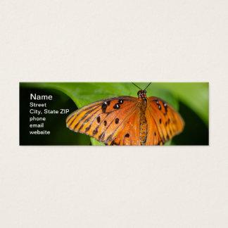 Queen Danaus Gilippus Mini Business Card